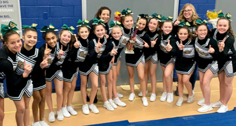1st Place at Cheerleading Xplosion 2020 competition