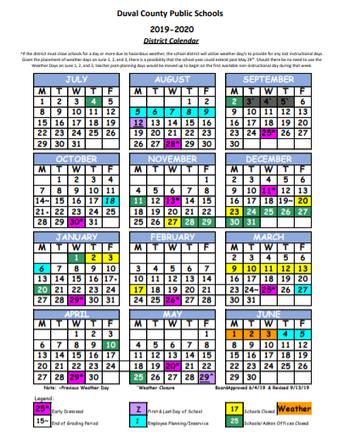 DCPS Calendar (updated)