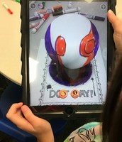 """Using AR to bring our dots to """"life"""""""