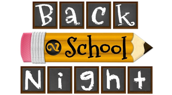 Neidig's Back to School Night