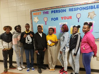 Congratulations October Students of the Month!