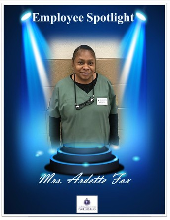 Employee Spotlight! - Mrs. Ardette Fox