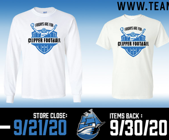 HOMECOMING T-SHIRT ORDER DUE BY SEPTEMBER 21