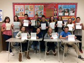 OVMS Students and Veterans are Pen Pals