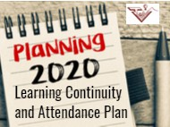 Reminder - Learning Continuity and Attendance Plan - Request for Feedback
