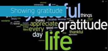 Ms. Scheffey's Classes Show Gratitude