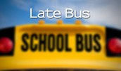 Late buses the first few days