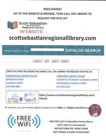 Check out an E-Book from the Sebastian Co Library