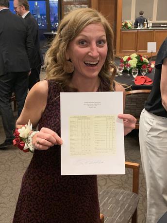 Breaking News:  Congrats Ms. Hansen!