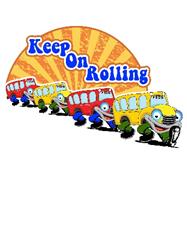 Keep On Rolling Cartoon Bus
