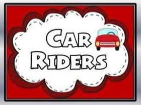 Car Rider – Forma correcta para salir de la escuela