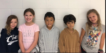 3rd Grade Citizens of the Month