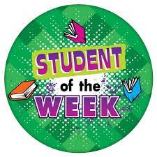 Estudiante de la semana: 5o grado