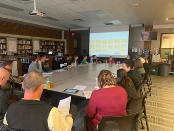 School Counseling Bi-Annual Advisory Committee Meeting