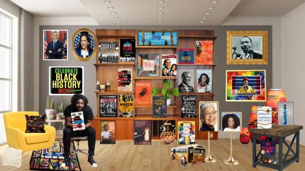Black History Month Book Display 2021
