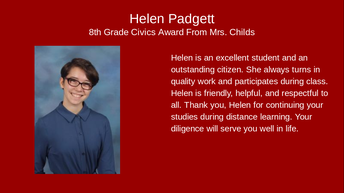 Helen Padgett