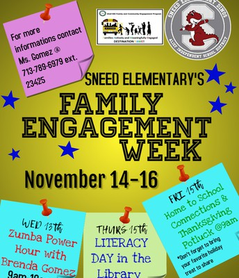 Family Engagement Week Nov. 14-16