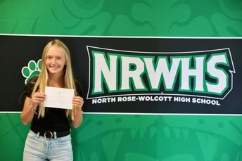 Congratulations to Abigail Wanek
