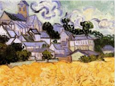 Auvers with Church