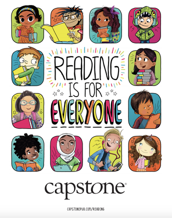 Summer Reading through Capstone Interactive