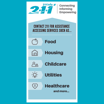 211Info connects people with health & social service organizations