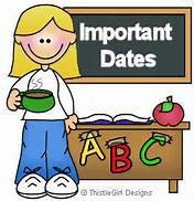 Important Dates: March 22nd - March 26th
