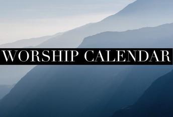 Worship Calendar