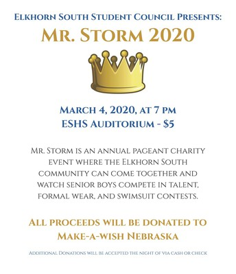 Mr. Storm            Donations to  Make A Wish Foundation