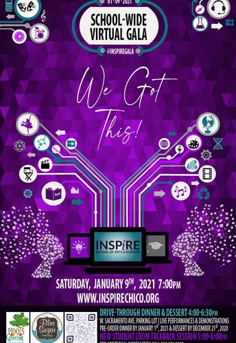 Inspire's School-wide Gala 2021: We Got This!