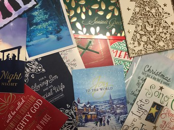 Recycle Christmas Cards for St. Jude's Ranch for Children
