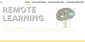 ESU 9 Remote Learning Website with RESOURCES
