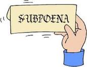 Subpoenas-Subpoenas-Subpoenas