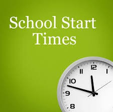 New School Times beginning January 28th!