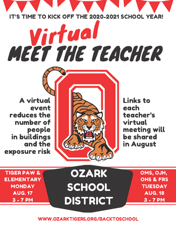 Why is Meet the Teacher Virtual?