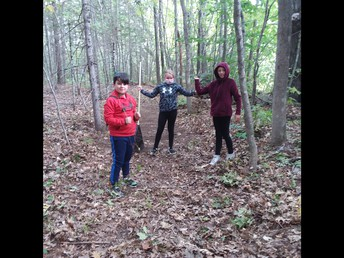 5th grade trail work