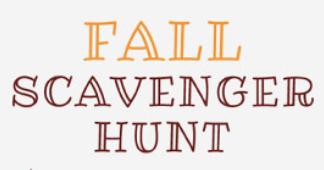 Fall Themed Virtual Scavenger Hunt