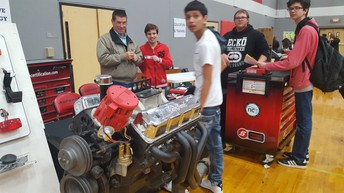 Auto Tech with Mr. Terry