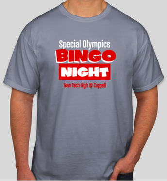 Special Olympics Shirt Ordering