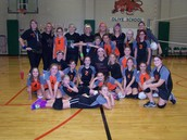 5th Grade Girls Volleyball vs. Staff