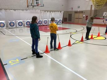 Archery Unit in Gym Class (Grades 4-6)