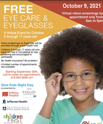 Free online vision screenings! Sign up today!
