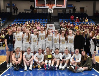 Davies Girls Basketball 2nd Place in State