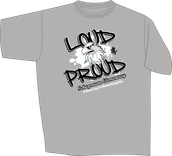 PTA Spirit Wear: Grey T - Shirt