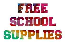 FREE SCHOOL SUPPLIES - AUGUST 11