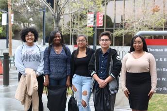 Estudiantes de Legacy #Love2TeachLV