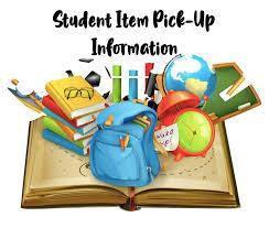 Student Item Pick Up