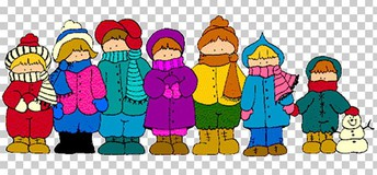 DRESSING WARM FOR RECESS