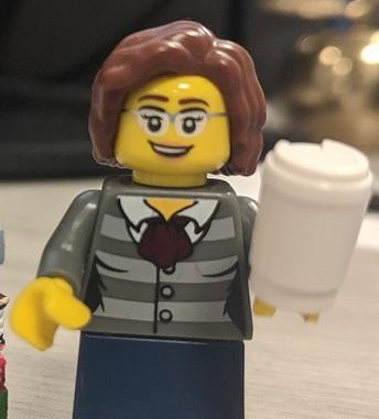 Lego librarian avatar