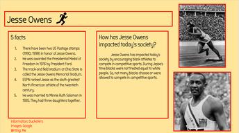 Jesse Owens - Track star