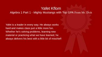 Yafet Kflom